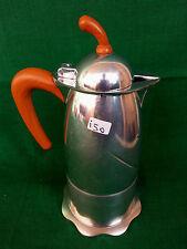 VECCHIA CAFFETTIERA OVELLA MORINOX 6 TAZZE IN ALLUMINIO COFFEE MAKER. N° I50.