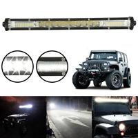 LED travail Bar Flood Spot lumières conduite lampe voiture camion SUV 12V 24V BR