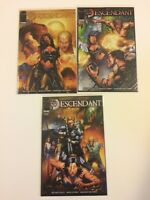 Complete Set Descendant #1 2 3 Image Comics 2009 VF/NM