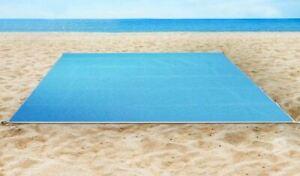 Foldable Sand Free Beach Mat Outdoor Picnic Blanket Rug Sandless Mattress Pad