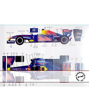 TRANSDECAL F60 -> BLUE COW BC7 2011 for 1/20 TAMIYA