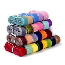 """22Bundles Random Velvet Ribbons 5/8"""" Single Face Sheer Lace Trims Gift Wrap 16mm"""