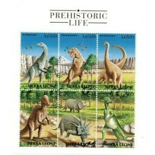 VINTAGE CLASSICS - Sierra Leone Dinosaurs - Sheet Of 6 - MNH