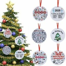 Personalised Lockdown Christmas 2020 Decoration Lockdown Memories Family Bauble
