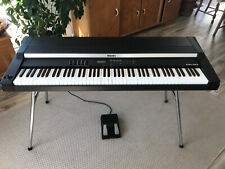 Digital piano Rhodes MK-80 + pedal + stand + flight case (original 1992)