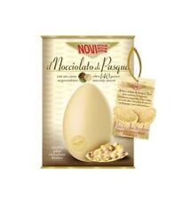 Uovo di Pasqua Novi Cioccolato Nocciolato Bianco con Nocciole intere 370 grammi