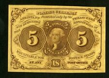 US Paper Money 1862 5c Fractional Currency NO RESERVE!