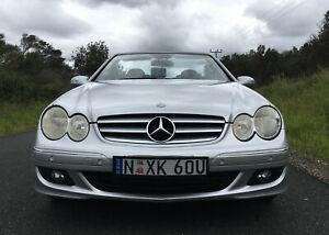 Mercedes Benz 2 door Convertible