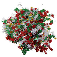 50g Christmas Table Throwing Confetti Xmas Tree & Snowflake Party Decoration