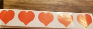 3 Way Heart tanning stickers, 40