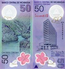 NICARAGUA 50 CORDOBAS 2010 P-207 UNC
