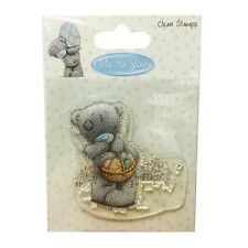 "Me To You Tatty Teddy 'Pâques panier ""clear stamp * GRATUIT UK P + P *"