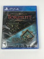 New & Sealed Planescape Torment & Icewind Dale: Enhanced Edition for PS4