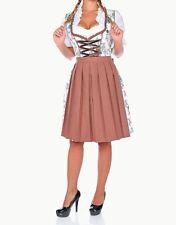 Sz 12.NEW!Germany,German,Trachten,Oktoberfest,Dirndl Dress,Browns,US Seller