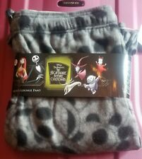 Nightmare Before Christmas Disney Cotton Sleep Pajama Pants GRAY JACK XL