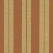 "Sunbrella Moreland Clay 4882-0000 Stripe Outdoor Fabric By The Yard 46"" Wide"
