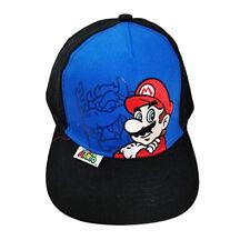 Baseball Cap - Nintendo - Super Mario Bowser Blue Kids/Boys New