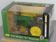 John Deere Styled G Tractor PRECISION KEY  Diecast NIB 1:16 Highly Detail