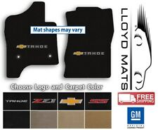 Chevrolet Tahoe - 2pc Lloyd Velourtex Carpet Mat Set - Choose Color & Logo