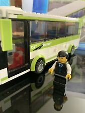 Lego City 8404 Green Bus w minifig and manual -  From Public Transport Station