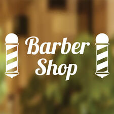Barbers Shop Vinyl Sign Hairdressers Hair Salon Window Lettering Sticker Art