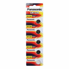 Panasonic CR1220 3v Lithium Battery 1pack X (5pcs) Batteries