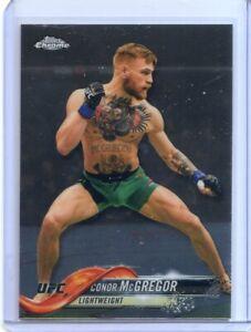 2018 TOPPS UFC CHROME CONOR McGREGOR IRELAND #100