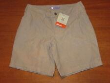 Nwt $115 Ibex Horny Toad Gs Short Dry Mud Stripe Organic Hemp Shorts Womens 4
