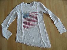 CHIPIE tolles asymetrisches Shirt USA Flagge Gr. 12 J  VS