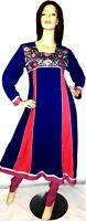 Shalwar kameez eid pakistani designer stitched anarkali salwar sari suit uk 10