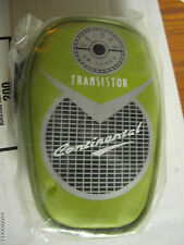 Cool Retro Radio Transistor Carrying Case (Ipod or Phone Accessory)