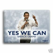 Unofficial OBAMA *Yes We Can* Campaign Button / Pin