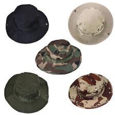 Men's Military Bucket Hat Boonie Hunting Fishing Climbing Outdoor Wide Cap Brim