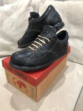 Camper Shoes Men's Sz 40 Black Leather Casual Shoes GUC Sneakers [MS3]