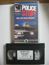 POLICE STOP!  VHS VIDEO. EAN: 5021472099922.Cert.E. Graham Cole (The Bill).