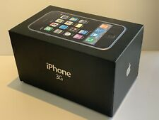Apple iPhone 3G - 8GB - Black (O2) A1241 (GSM) boxed used collectable