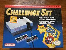 NEW Nintendo Entertainment System Challenge Set NES Bundle Console System Mario