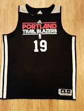 Game worn Portland Trail Blazers NBA Summer League Jersey 2013 Joel Freeland 3XL