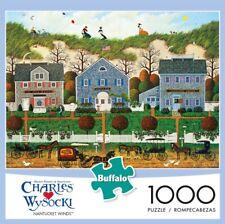 Charles Wysocki Buffalo Games Nantucket Winds 1000 Piece Jigsaw Puzzle NEW