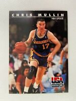 Chris Mullin Golden State Warriors 1992 SkyBox Basketball Card 55