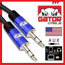 Auxiliar 3.5mm Cable Macho a para Audio Del Coche Iphone Samsung HTC 1.8m