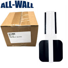 """Magnetic Door Hinge Covers for Painting - 3.5"""" for Residential Doors - 50-Pack"""