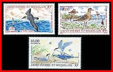 ST.PIERRE 1993 WATER BIRDS SC#C69-71 MNH