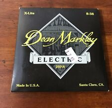 DEAN MARKLEY Guitar Strings Electric Acoustic X-Lite #2501A Original