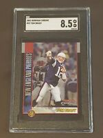 2002 Bowman Chrome #99 Tom Brady 2nd Yr SGC 8.5 PSA ?? Goat !!
