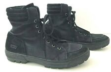 LEVIS Mens 10.5M Hightop Sneakers Canvas Suede 515299A48