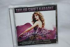 Taylor Swift SEALED CD/DVD Combo Speak Now Karaoke Edition