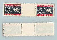 Lithuania 1949 50 DPC Augsburg mint gutter . rtb853