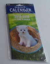 CAT KITTEN 2 YEAR DAY PLANNER CALENDAR 2018-2019 NOTES, WEEKLY MONTHLY PORTABLE