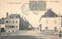 St-LEGER-sur-DHEUNE - La Place